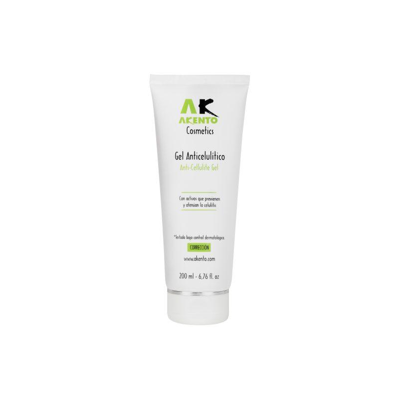 Gel Anticelulítico Akento Cosmetics